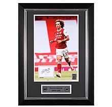 David Luiz 20/21 Framed Signed Print