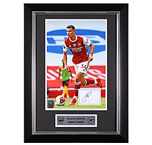 Xhaka 20/21 Framed Signed Print