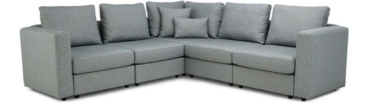 Zania corner sofa, left hand facing