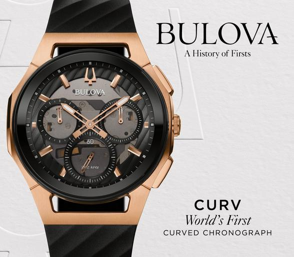 Bulova Curv - World's First Curved Chronograph