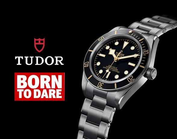 Tudor Watches - Born to Dare - How to spot a watch icon