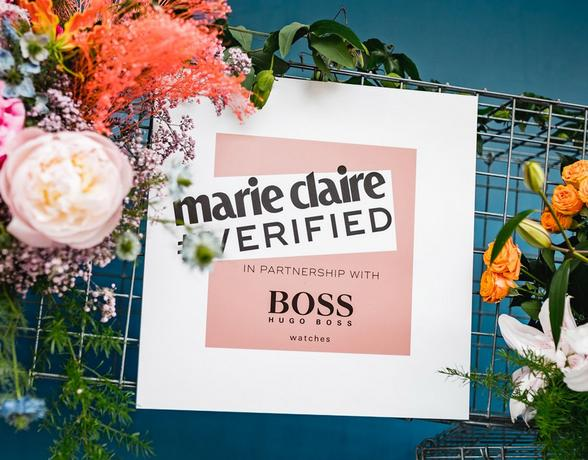 BOSS Watches Marie Claire Verified banner