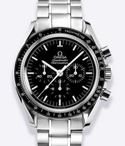 Omega Speedmaster Moonwatch Men's Steel Bracelet Watch