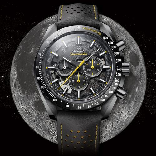 omega watch on the moon
