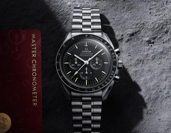 New Omega Speedmaster Moonwatch at Ernest Jones