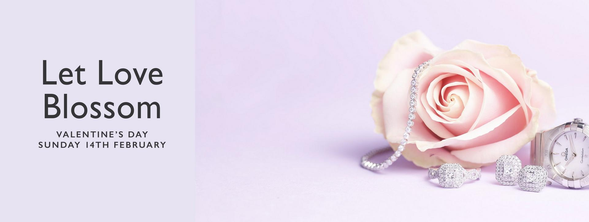 Valentine's Day 2021 - with up to 50% off diamond jewellery and engagement rings