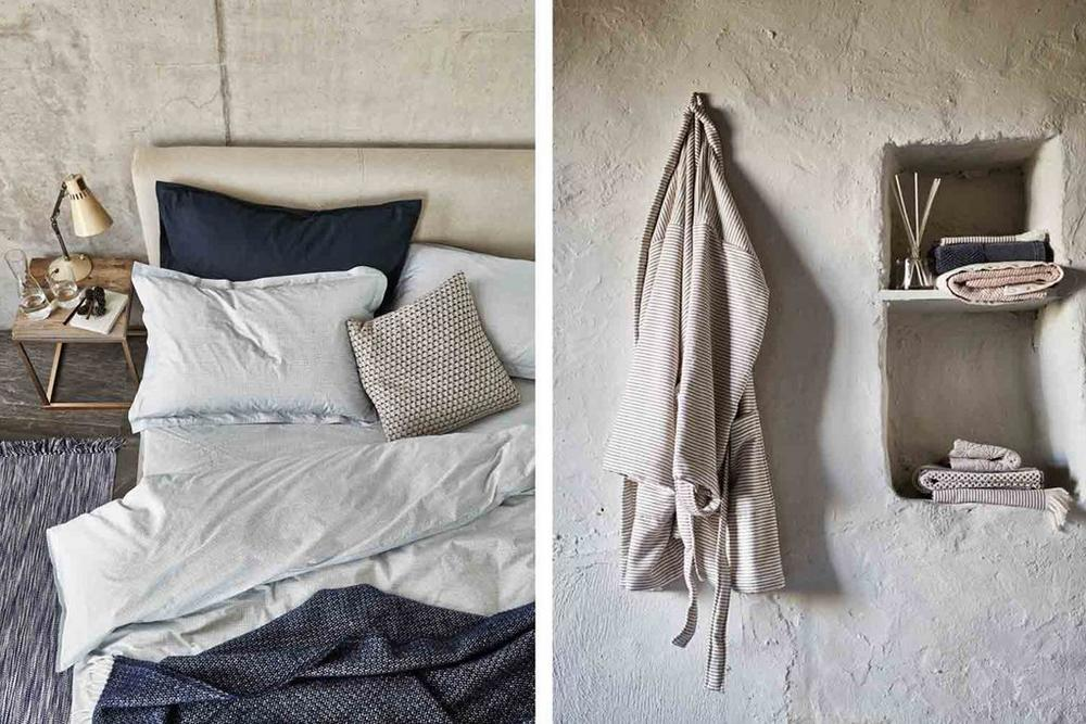 Bedeck Murmur Bedding and Towels