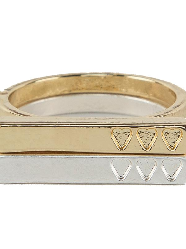 Tutti & Co Desire Ring in Gold and Silver