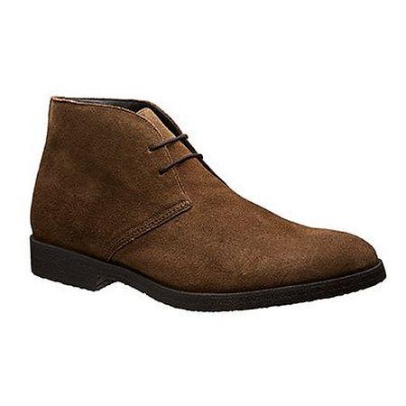 Suede desert boots in brown