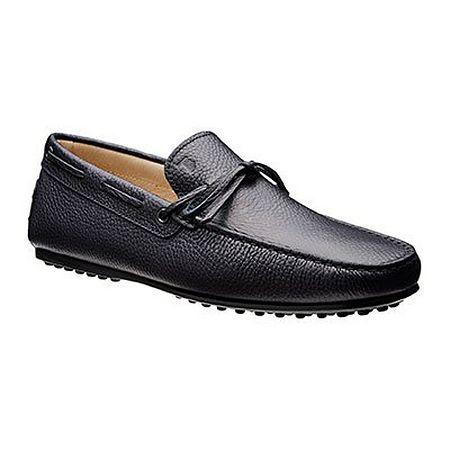 Black driver shoes