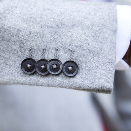 Kissing Buttons on tailored jacket sleeve