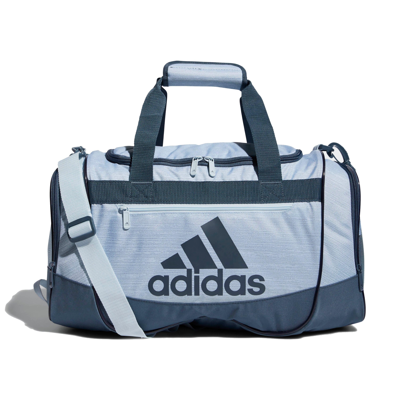 adidas Defender III Small Duffel Bag-Blue