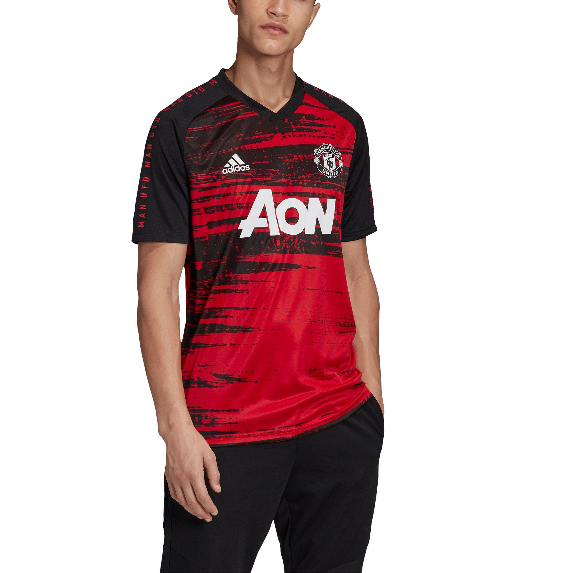 adidas Men's Manchester United Pre Match Jersey