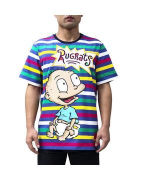 Rugrats Stripe T Shirt Hibbett