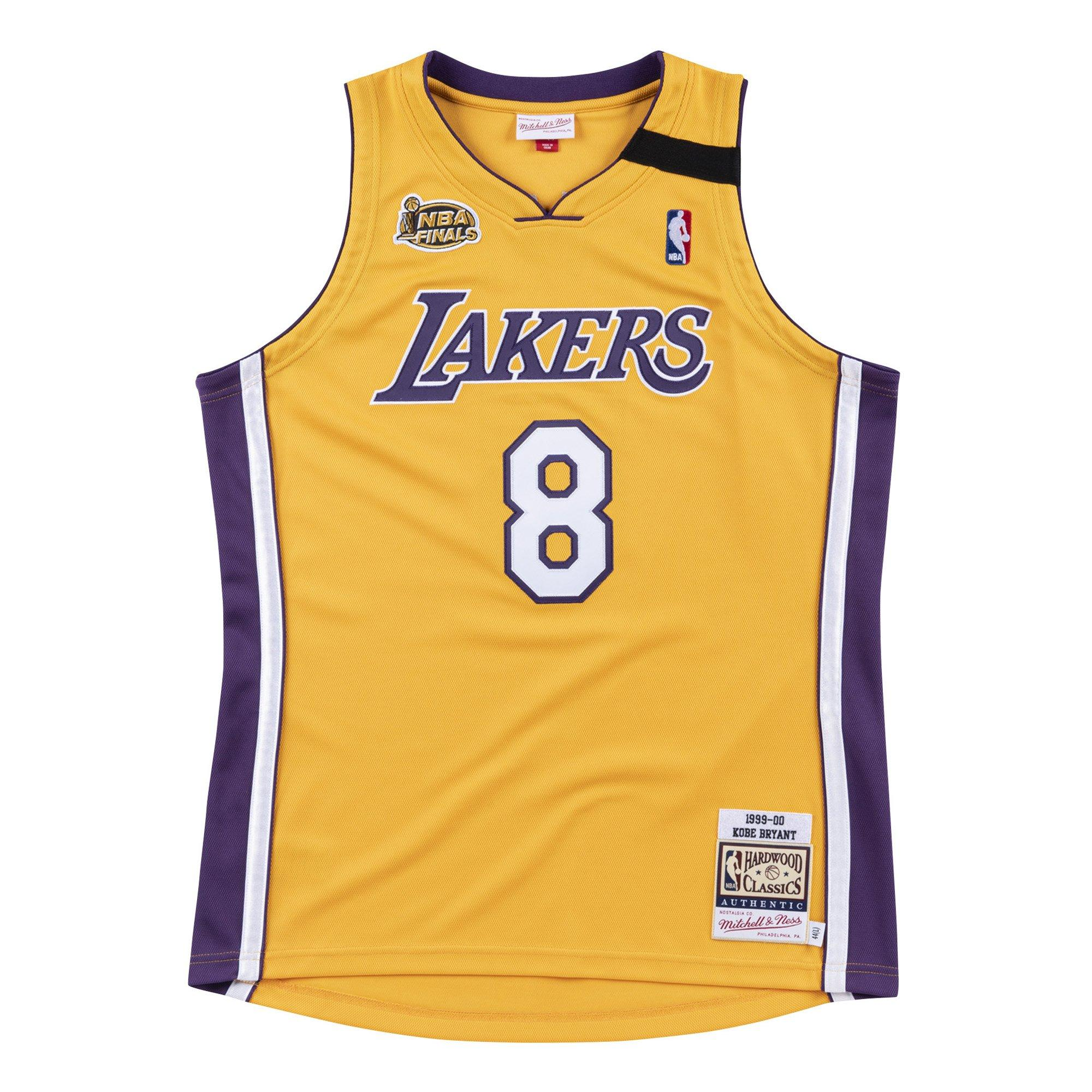Mitchell & Ness Men's Los Angeles Lakers Kobe Bryant NBA Finals '99-'00 Authentic Jersey