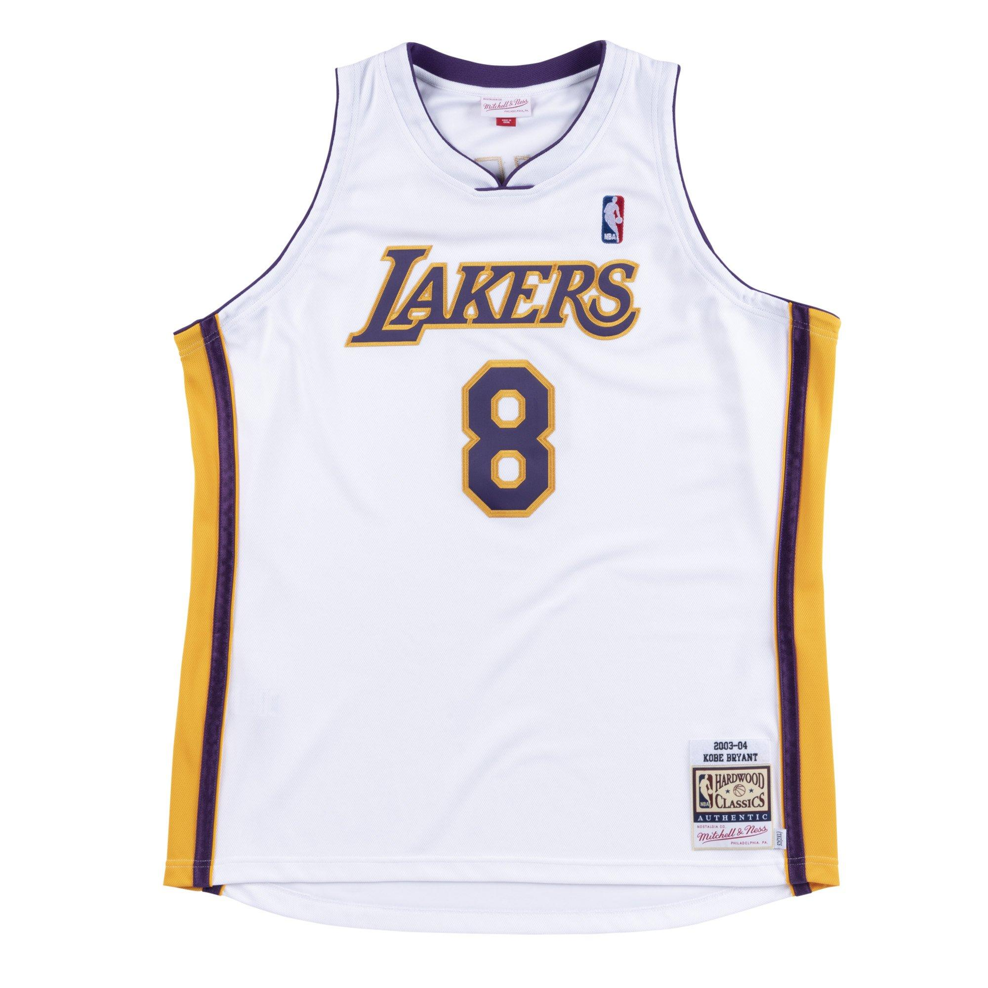 Mitchell & Ness Men's Los Angeles Lakers Kobe Bryant #8 '03-'04 Authentic Jersey