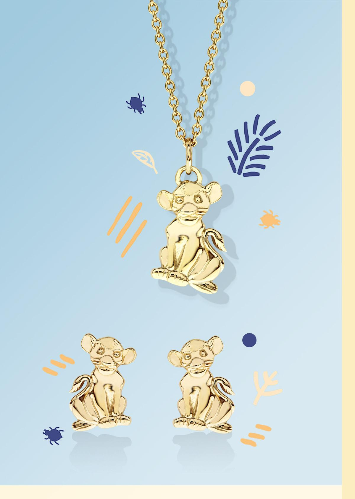The New Disney Lion King Children's Jewellery range!