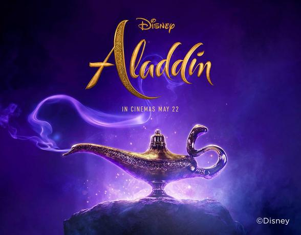 Popcorn at the ready for Disney's Aladdin Film Premiere