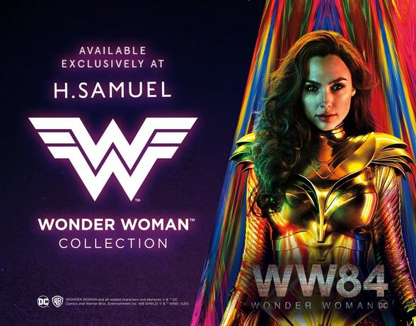 wonder woman at h.samuel
