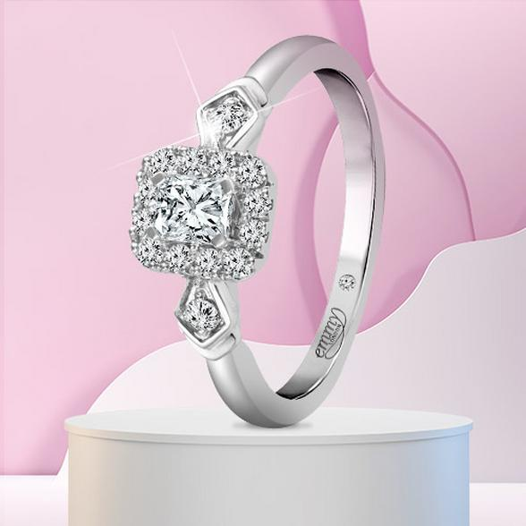 radiant diamond rings