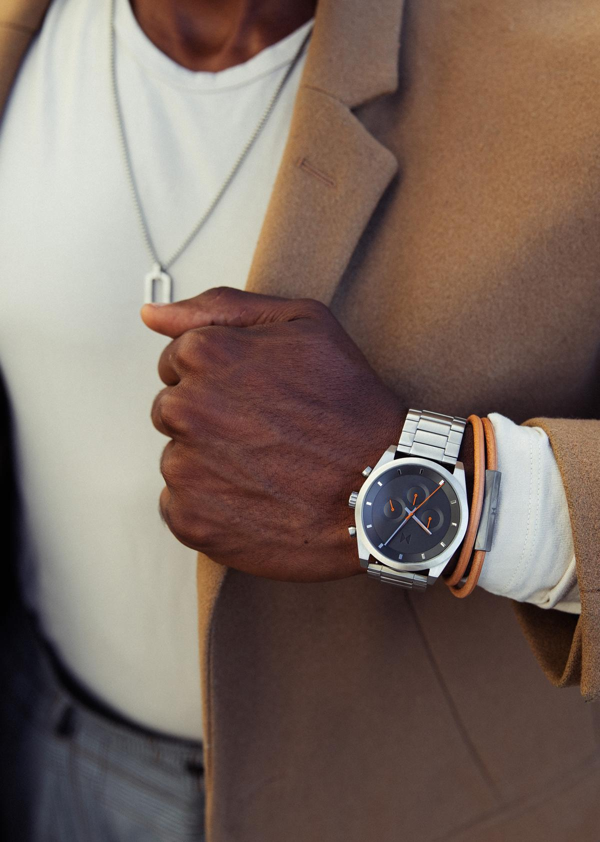 Man wearing MVMT Watch